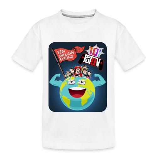 FGTeeV 10 Million (Adult) - Kid's Premium Organic T-Shirt