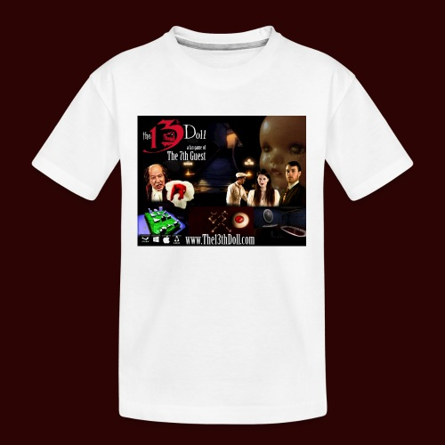 The 13th Doll Cast and Puzzles - Kid's Premium Organic T-Shirt