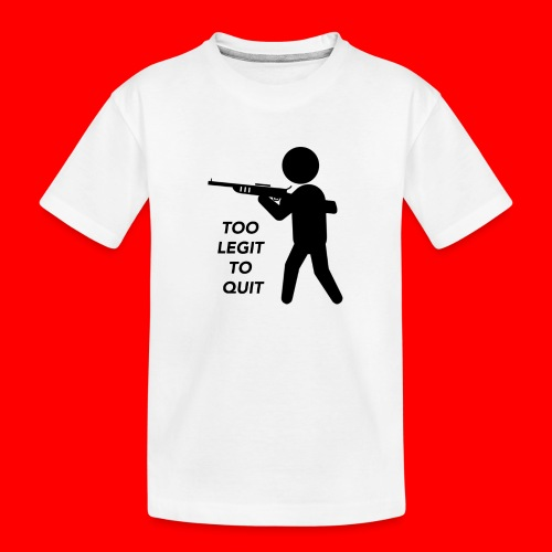 OxyGang: Too Legit To Quit Products - Kid's Premium Organic T-Shirt