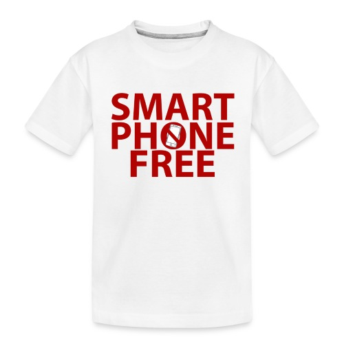 SMART PHONE FREE - Kid's Premium Organic T-Shirt
