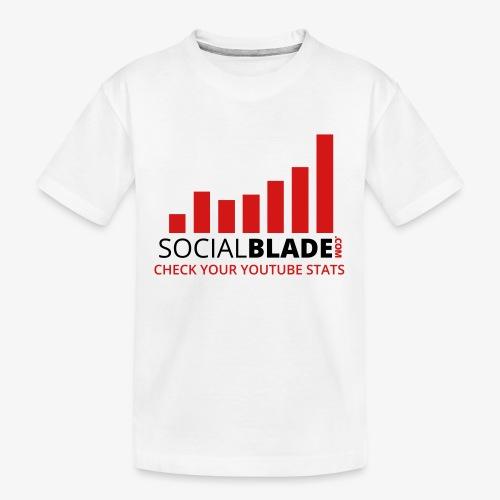 Traditional Logo Tagline - Kid's Premium Organic T-Shirt