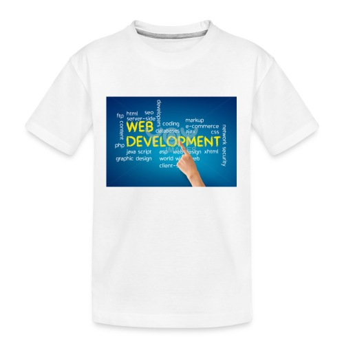 web development design - Kid's Premium Organic T-Shirt