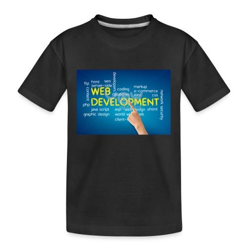 web development design - Kid's Premium Organic T-Shirt