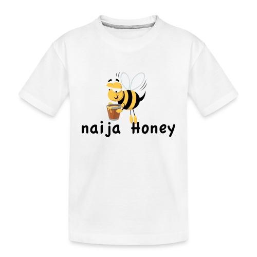 naija honey... - Kid's Premium Organic T-Shirt
