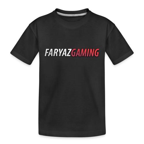 FaryazGaming Text - Kid's Premium Organic T-Shirt