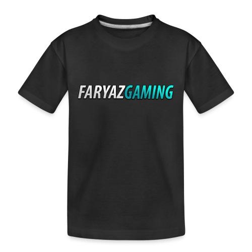 FaryazGaming Theme Text - Kid's Premium Organic T-Shirt