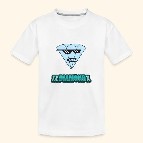 Txdiamondx Diamond Guy Logo - Kid's Premium Organic T-Shirt