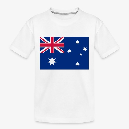 Bradys Auzzie prints - Kid's Premium Organic T-Shirt