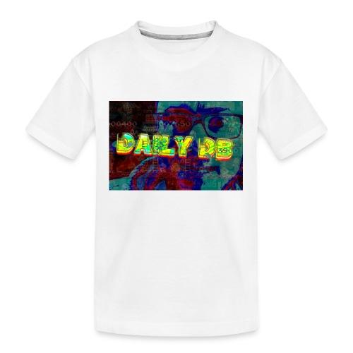 daily db poster - Kid's Premium Organic T-Shirt