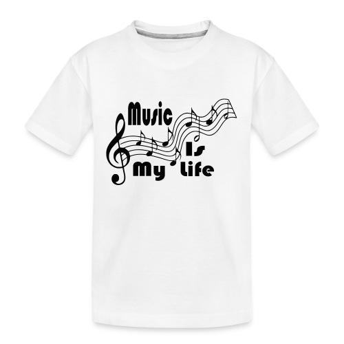 Music Is My Life - Kid's Premium Organic T-Shirt