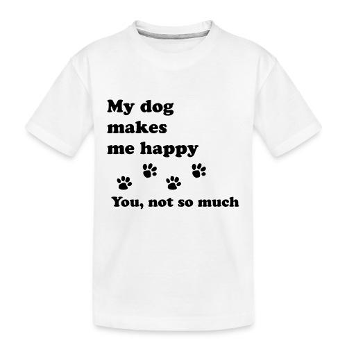 love dog 2 - Kid's Premium Organic T-Shirt
