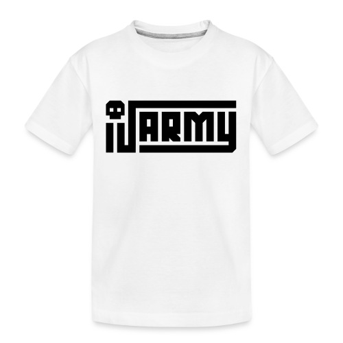 iJustine - iJ Army Logo - Kid's Premium Organic T-Shirt