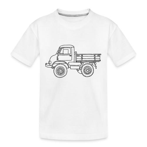 Off-road truck, transporter - Kid's Premium Organic T-Shirt
