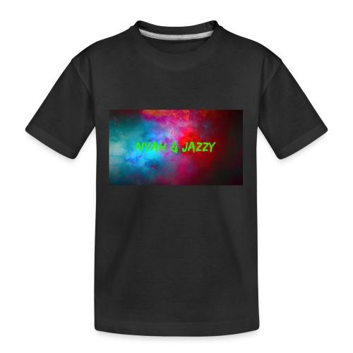 NYAH AND JAZZY - Kid's Premium Organic T-Shirt