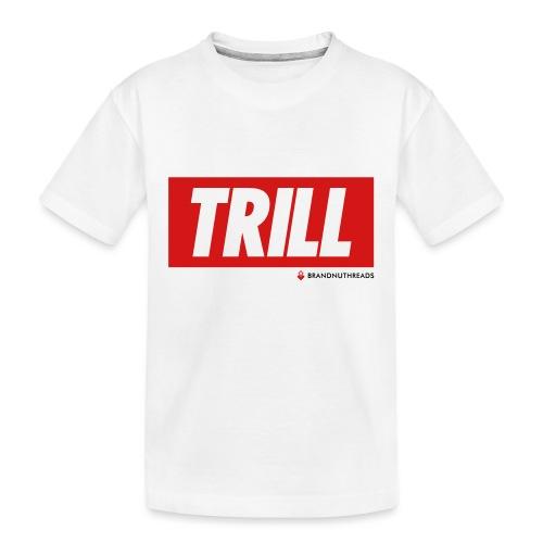 trill red iphone - Kid's Premium Organic T-Shirt