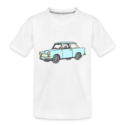 Trabant (lightblue) - Kid's Premium Organic T-Shirt
