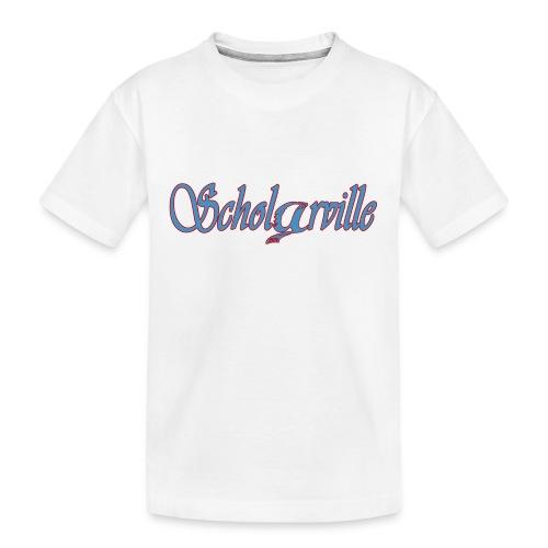 Welcome To Scholarville - Kid's Premium Organic T-Shirt