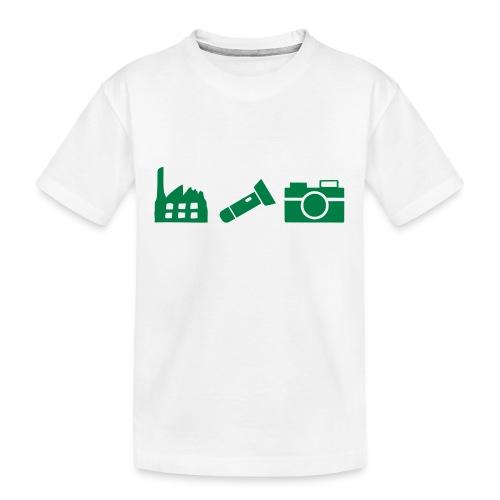 DCUE_Icons_Small - Kid's Premium Organic T-Shirt