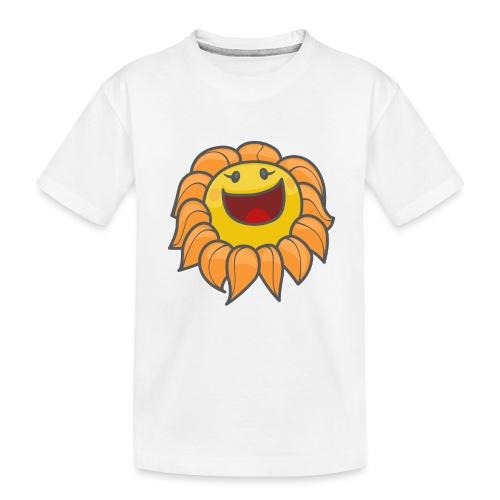 Happy sunflower - Kid's Premium Organic T-Shirt