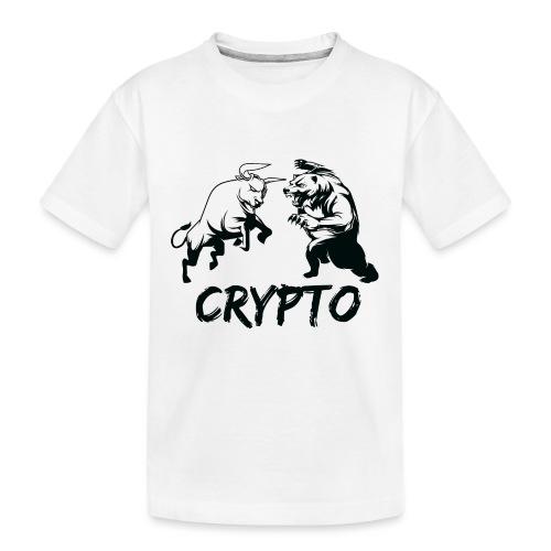 CryptoBattle Black - Kid's Premium Organic T-Shirt