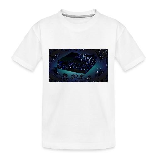 ps4 back grownd - Kid's Premium Organic T-Shirt