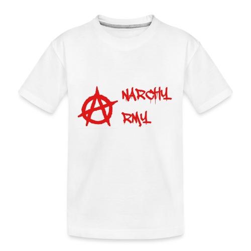 Anarchy Army LOGO - Kid's Premium Organic T-Shirt