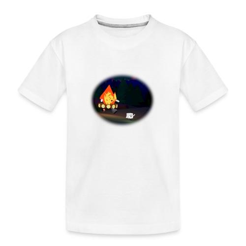 'Round the Campfire - Kid's Premium Organic T-Shirt