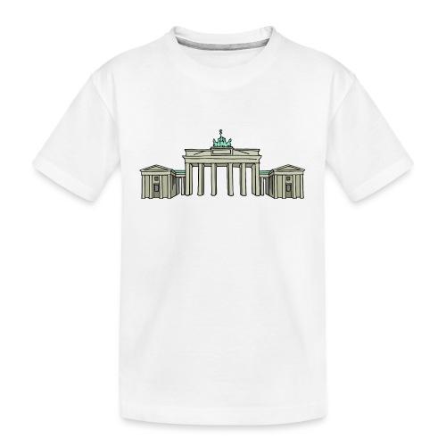 Brandenburg Gate Berlin - Kid's Premium Organic T-Shirt