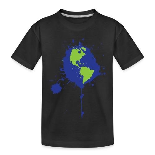 Art Changes the World - Kid's Premium Organic T-Shirt