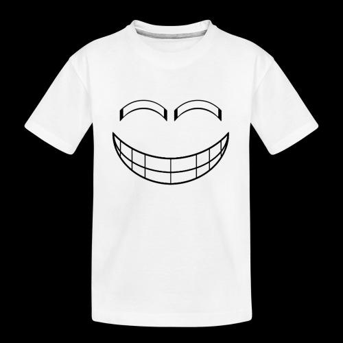 Empty Grin - Kid's Premium Organic T-Shirt