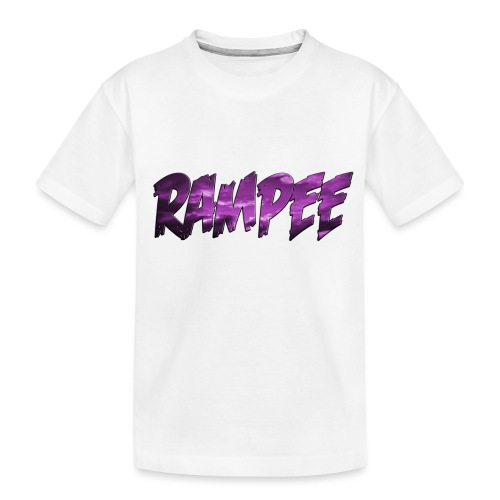 Purple Cloud Rampee - Kid's Premium Organic T-Shirt