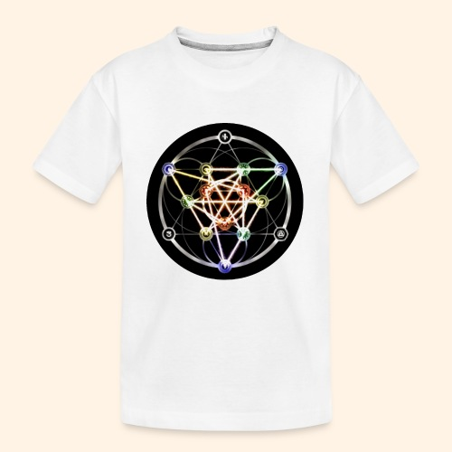 Classic Alchemical Cycle - Kid's Premium Organic T-Shirt