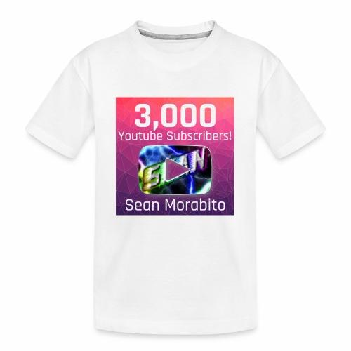 Sean Morabito's 3000 Sub's Logo - Kid's Premium Organic T-Shirt
