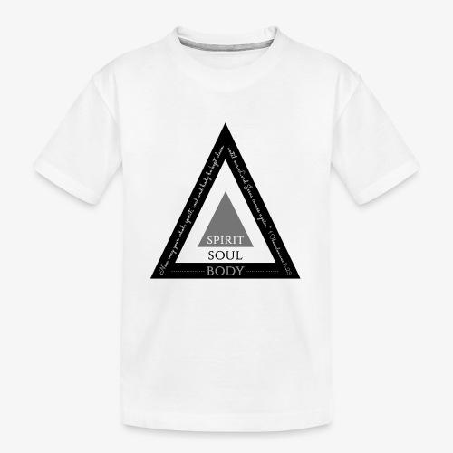 Spirit Soul Body - Kid's Premium Organic T-Shirt