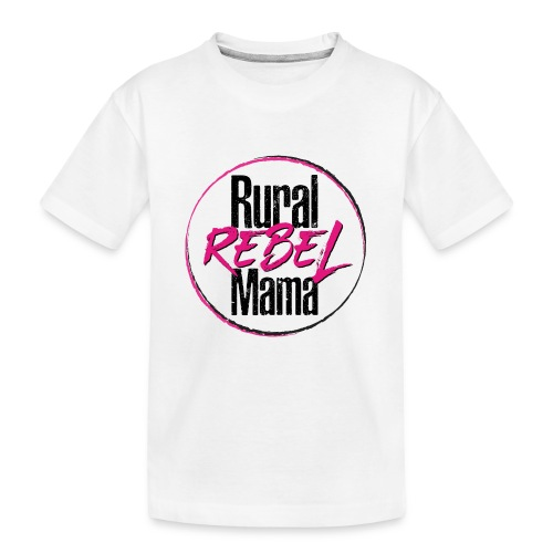 Rural Rebel Mama Logo - Kid's Premium Organic T-Shirt