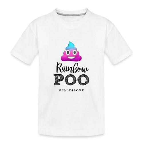 Rainbow Poo - Kid's Premium Organic T-Shirt
