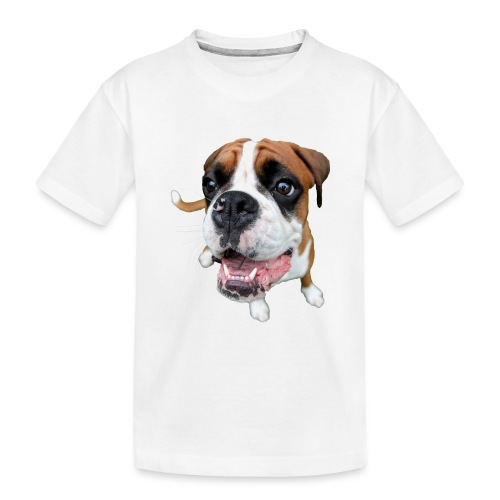 Boxer Rex the dog - Kid's Premium Organic T-Shirt