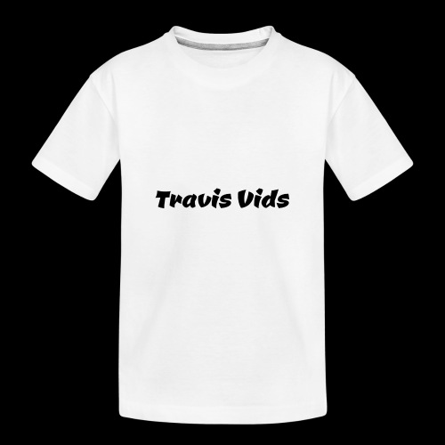 White shirt - Kid's Premium Organic T-Shirt