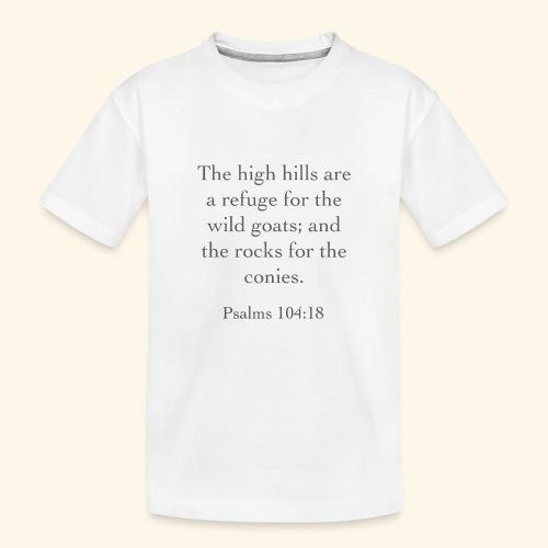 High Hills KJV - Kid's Premium Organic T-Shirt