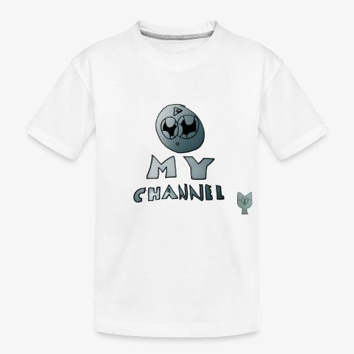 My Channel Cute - Kid's Premium Organic T-Shirt