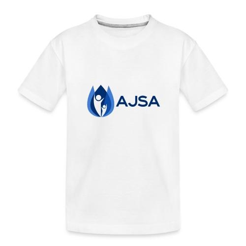 AJSA Bleu - Kid's Premium Organic T-Shirt