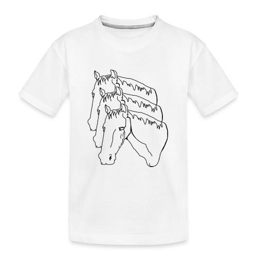 horsey pants - Kid's Premium Organic T-Shirt
