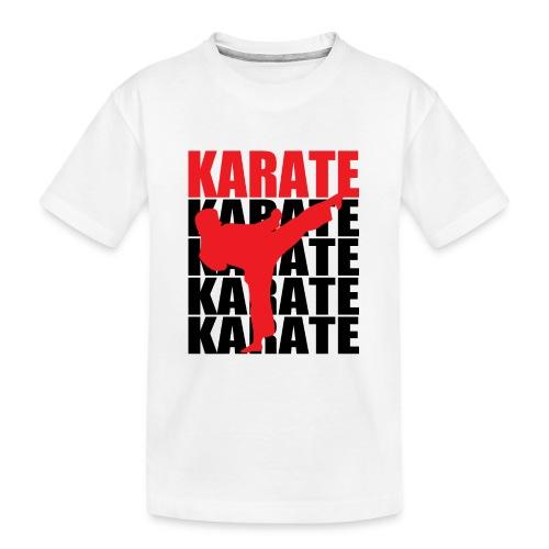 Karate - Kid's Premium Organic T-Shirt