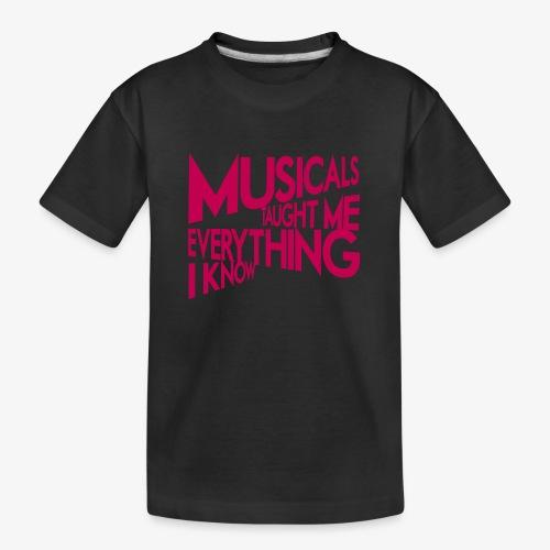 MTMEIK Pink Logo - Kid's Premium Organic T-Shirt