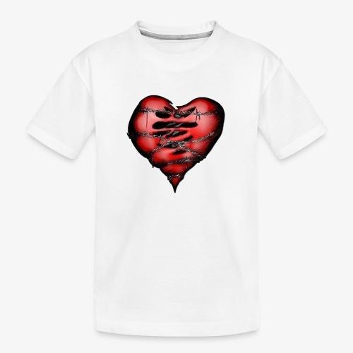 Chains Heart Ceramic Mug - Kid's Premium Organic T-Shirt