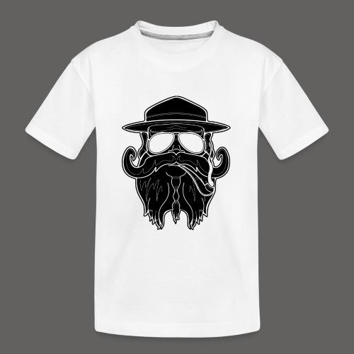 OldSchoolBiker - Kid's Premium Organic T-Shirt