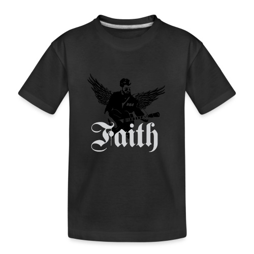 faithwings png - Kid's Premium Organic T-Shirt