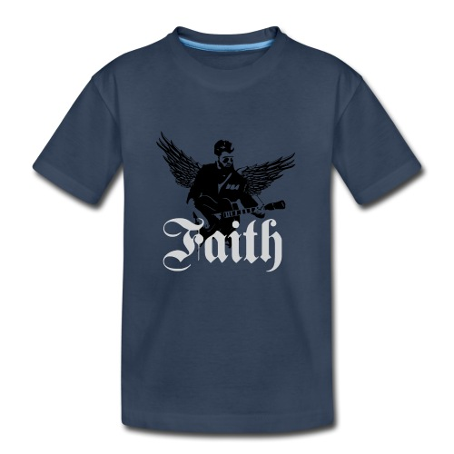 faithwings png - Kid's Premium Organic T-Shirt