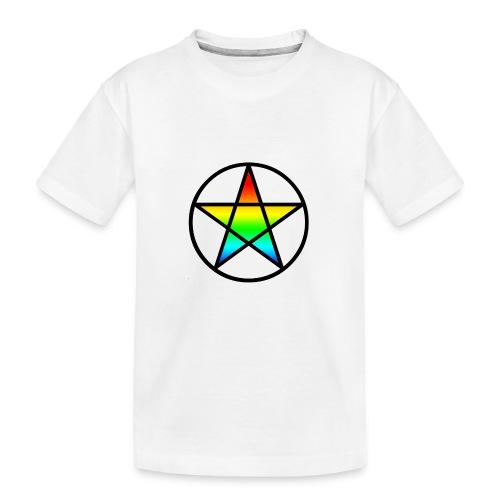 Official Iridescent Tee-Shirt // Men's // White - Kid's Premium Organic T-Shirt