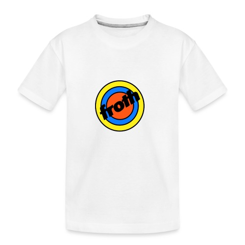 Froth Pins - Kid's Premium Organic T-Shirt
